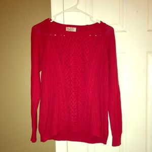 Heritage red sweater